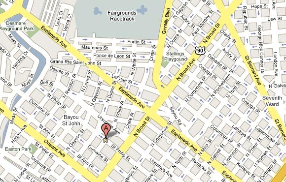 Faubourg St. John