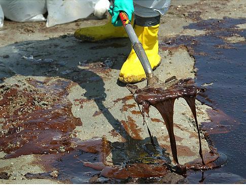 Gulf Oil Spill Beach Clean Up