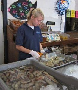 Gulf Oil Spill Fish Monger