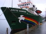 greenpeace arctic_sunrise