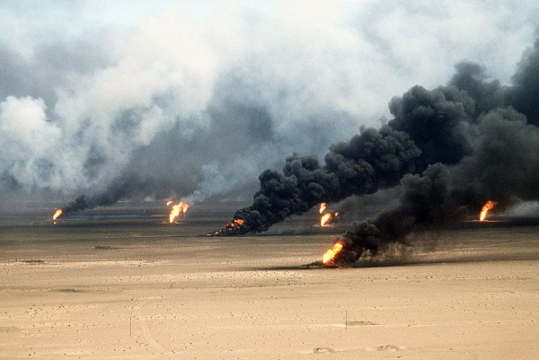 Gulf of Mexico Oil Spill Kuwait Oil Well Fires
