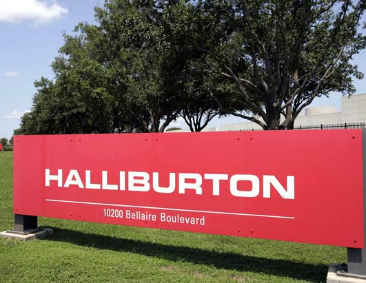 houston Halliburton