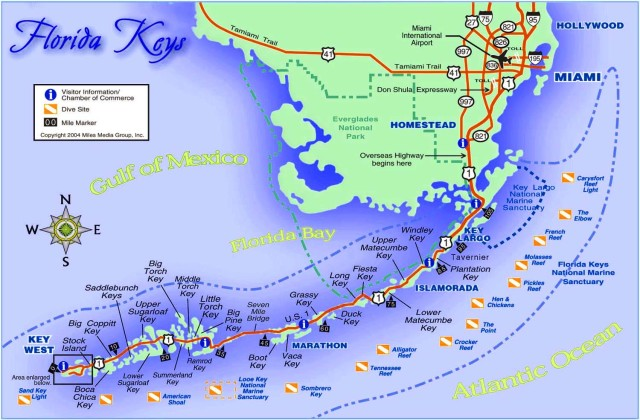 seafood Florida_Keys_Map
