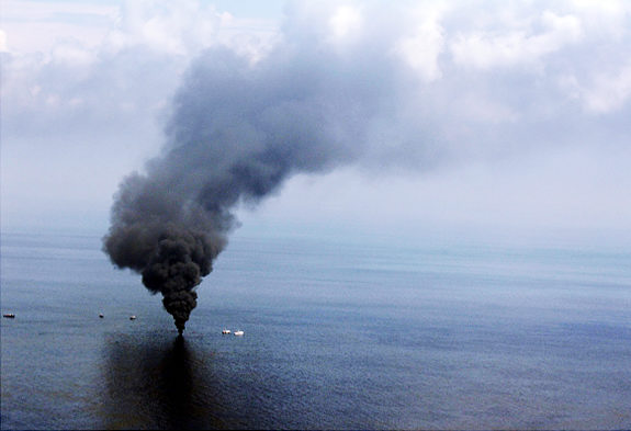 Gulf Oil Spill sea floor