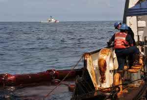 coast guard gulf of mexico oil spill