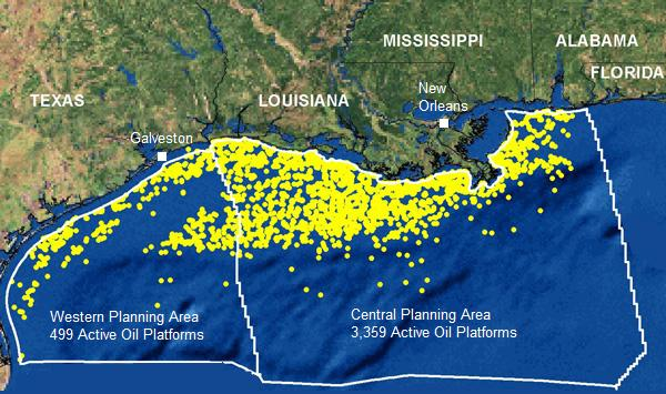 gulf of mexico oil spill active wells