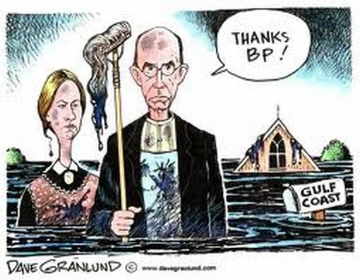 gulf of mexico oil spill american gothic