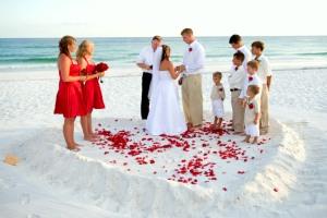 gulf of mexico oil spill beach wedding