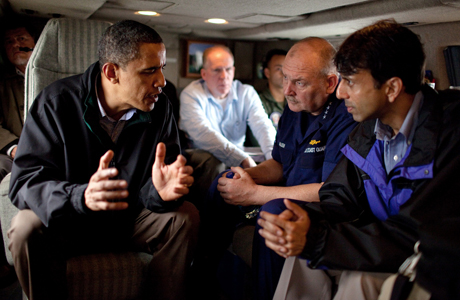gulf of mexico oil spill jindal obama