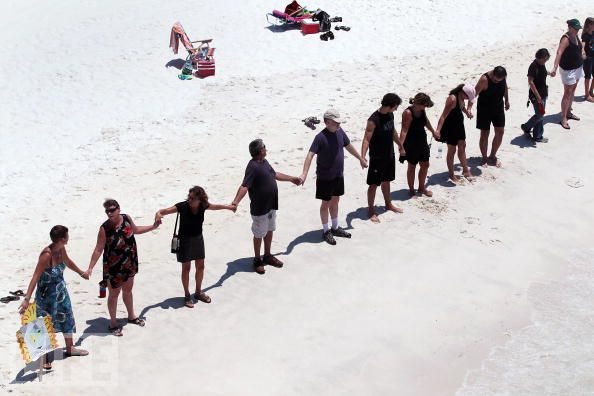 hands across the gulf gulf of mexico oil spill