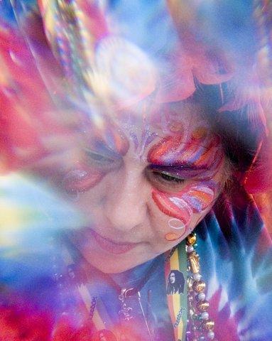 face painting Irina