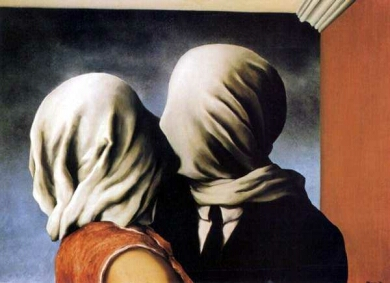 Magritte_-_Les_Amants gulf of mexico oil spill