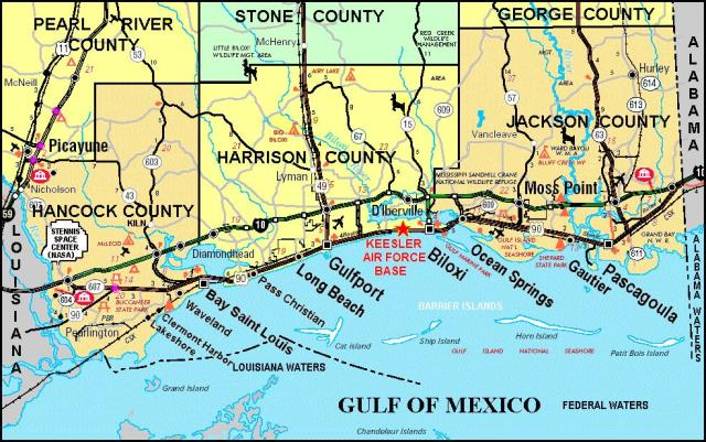 mississippi gulf coast gulf of mexico oil spill