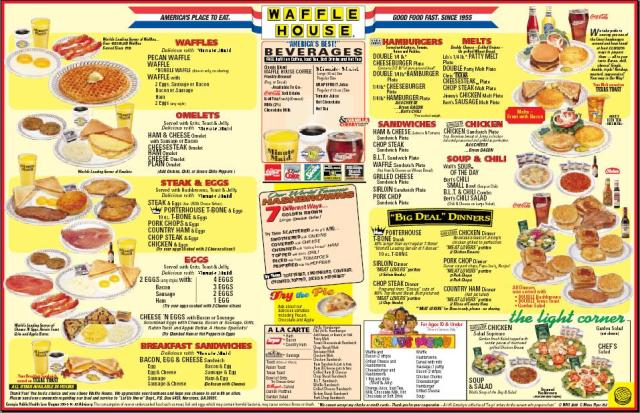 waffle_house_menu gulf of mexico oil spill