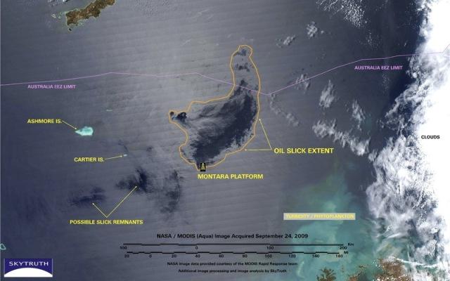 Montara oil spill