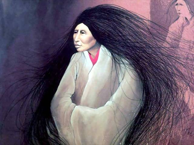 Frank_Howell_-_The-Sweetgrass-Woman