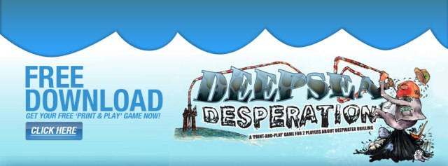 Deepsea Desperation Board Game