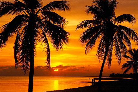 quiet-sunset-key-west-florida