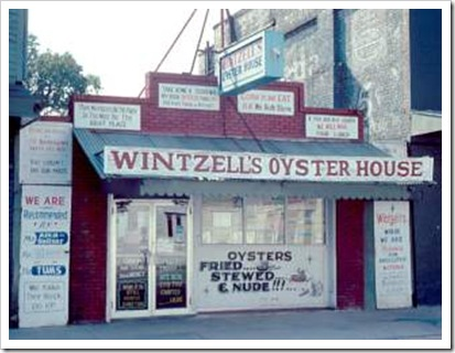 Wintzell's Oyster House in Mobile