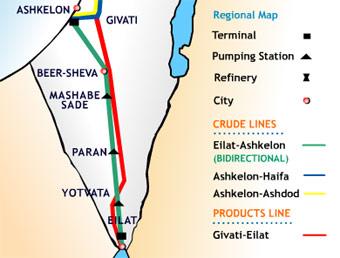 В Израиле продолжают хранить молчание о нефтепроводе Эйлат-Ашкелон