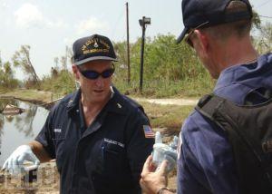 Coast Guard: Oil cleanup