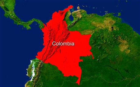 Columbia Mexico Map.Gulf Of Mexico Oil Spill Blog China Columbia Coal Rail Gulf Of