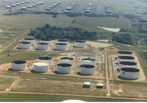 Cushing Oklahoma Oil Glut