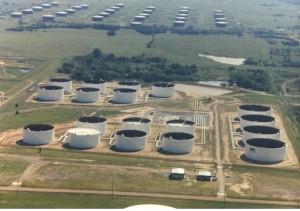 Cushing Oklahoma Oil Glut