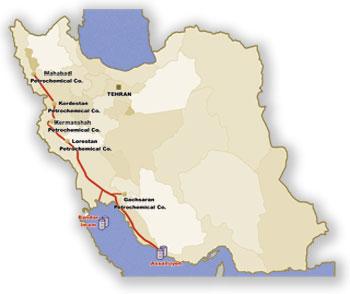 Aghajari Pipeline Oil Spill