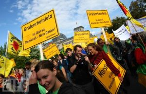 Germany Berlin Nuclear Power Protests
