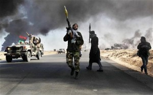 Libya: UN security council backs no-fly zone and air strikes