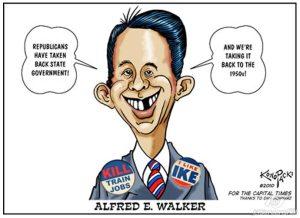 Wisconsin GOP Senators Bust Unions