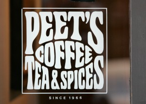 Peet's Coffee Tea & Spices California San Fransisco Bay Area
