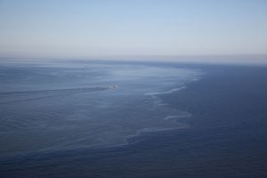 Oil Slick off Louisiana Coast June 2011