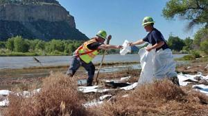 Yellowstone River Oil Spill Cleanup
