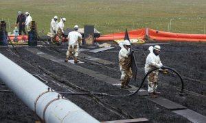 Lisburne Oil Field Spill