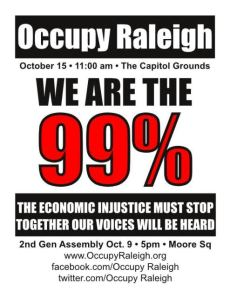 Occupy Raleigh