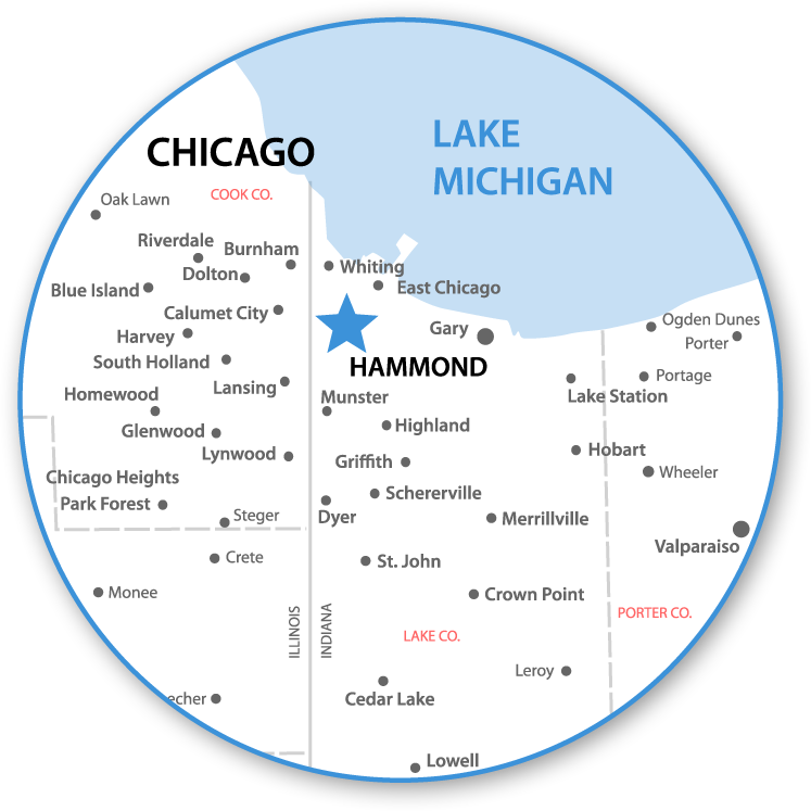Gulf of Mexico Oil Spill Blog FROGSVILLE MAP HAMMOND INDIANA