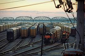 Gibson Railroad Yard Hump Road
